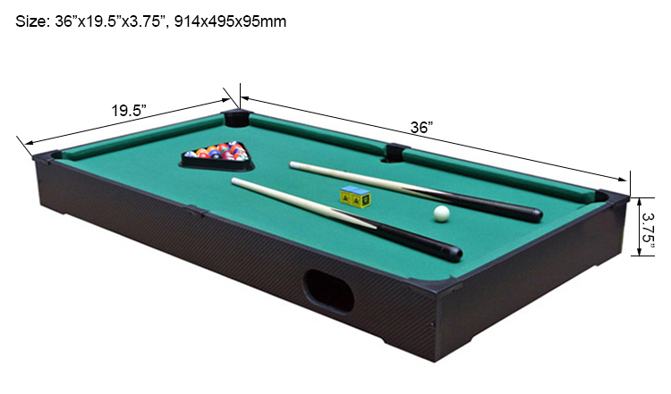 Table Top Billiard Table With Blue Cloth Wesite Name - Big 5 pool table