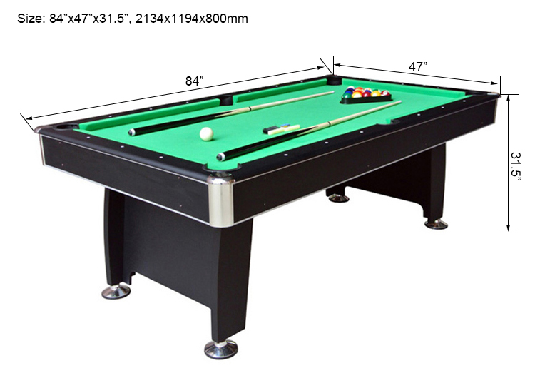 Dining Wooden Billiard Table For Sale Wesite Name - 84 pool table
